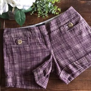 🍉$2/25 The Limited Drew Fit Plaid Shorts, 4